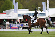 Julia Norman on Carryon Bobby Boy during the International Horse Trials at Chatsworth, Bakewell, United Kingdom on 11 May 2018. Picture by George Franks.