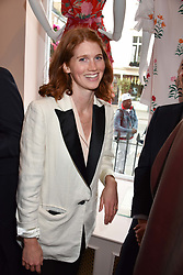 Lara Inskip at the launch of the Beulah Flagship store, 77 Elizabeth Street, London England. 16 May 2018.