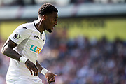 Swansea City (8) Leroy Fer during the Premier League match between Crystal Palace and Swansea City at Selhurst Park, London, England on 26 August 2017. Photo by Sebastian Frej.