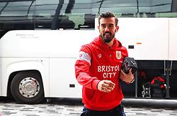 Marlon Pack of Bristol City arrives at the Riverside Stadium - Mandatory by-line: Matt McNulty/JMP - 14/04/2018 - FOOTBALL - Riverside Stadium - Middlesbrough, England - Middlesbrough v Bristol City - Sky Bet Championship
