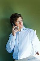 Man using his mobile phone&#xA;<br />