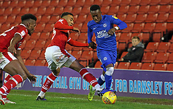 Siriki Dembele of Peterborough United takes on Jacob Brown of Barnsley - Mandatory by-line: Joe Dent/JMP - 26/12/2018 - FOOTBALL - Oakwell Stadium - Barnsley, England - Barnsley v Peterborough United - Sky Bet League One