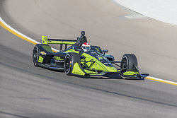 February 9, 2018 - Avondale, Arizona, United States of America - February 09, 2018 - Avondale, Arizona, USA: Charlie Kimball (23) takes his IndyCar Verizon car through the turns during the Prix View at ISM Raceway in Avondale, Arizona. (Credit Image: © Walter G Arce Sr Asp Inc/ASP via ZUMA Wire)
