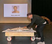 2019, June 04. JvE Studio, Almere, The Netherlands. Tom de Ket at the press presentation of Mammoet.