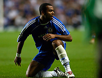 Photo: Daniel Hambury.<br />Chelsea v Werder Bremen. UEFA Champions League, Group A. 12/09/2006.<br />Chelsea's Ashley Cole.