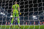 GOAL PENALTY 1-0 Chelsea midfielder Jorginho (5) faces Arsenal goalkeeper Bernd Leno (1) during the Premier League match between Chelsea and Arsenal at Stamford Bridge, London, England on 21 January 2020.