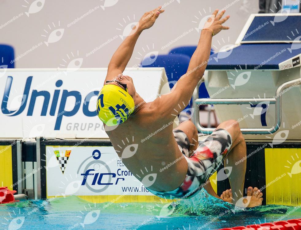 Restivo Matteo<br /> Nuoto Friuli<br /> 200 m Backstroke Men<br /> 51 Trofeo Settecolli Clear di nuoto - swimming<br /> Stadio del Nuoto Roma  Italy 13 - 15 June 2014<br /> Day 03 Heats<br /> Photo Pasquale Mesiano/Deepbluemedia/Insidefoto