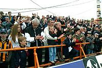Photo: Ed Godden.<br />Barnet v Stockport County. Coca Cola League 2. 29/04/2006. Barnet fans at full-time.