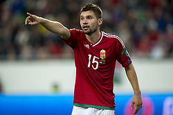 September 3, 2017 - Budapest, Hungary - Mate Patkai of Hungary during the FIFA World Cup 2018 Qualifying Round match between Hungary and Portugal at Groupama Arena in Budapest, Hungary on September 3, 2017  (Credit Image: © Andrew Surma/NurPhoto via ZUMA Press)