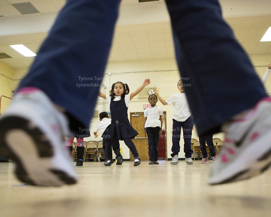 Bunker Hill Elementary <br /> 1401 Michigan Ave NE, Washington, DC 20017<br /> <br /> <br /> <br /> <br /> <br /> <br /> Kinder in gym<br /> <br /> NO DCPS  #7780 except for the kid second to left (white shirt) he has dcps release