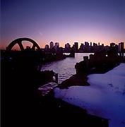 Sunrise, Manhattan Downtown Skyline