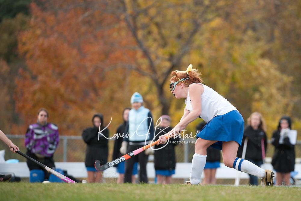 Varsity Field Hockey Gilford versus Profile October 14, 2010.