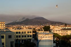 July 18, 2017 - Naples, Campania, Italy - Panoramic view of Vesuvius on 18 July 2017, in Naples, Italy. (Credit Image: © Paolo Manzo/NurPhoto via ZUMA Press)