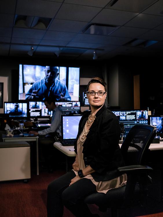 CHANTILLY, VA - JULY 22 Alisha Reay, a senior producer at the Great Courses (Photo by Greg Kahn/GRAIN for The Washington Post)