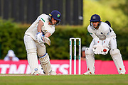 Billy Root of Glamorgan batting during the Specsavers County Champ Div 2 match between Middlesex County Cricket Club and Glamorgan County Cricket Club at Radlett Cricket Ground, Radlett, Herfordshire,United Kingdom on 17 June 2019.