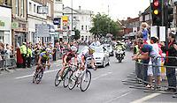 London-Surrey Cycle Classic - London 2012 Road Race test event - Twickenham, London, UK, 14 August 2011:  Contact: Rich@Piqtured.com +44(0)7941 079620 (Picture by Richard Goldschmidt)