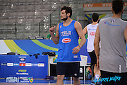 DESCRIZIONE: Torino FIBA Olympic Qualifying Tournament Allenamento<br /> GIOCATORE: Alessandro Gentile<br /> CATEGORIA: Nazionale Italiana Italia Maschile Senior Allenamento<br /> GARA: FIBA Olympic Qualifying Tournament Semifinale Allenamento<br /> DATA: 09/07/2016<br /> AUTORE: Agenzia Ciamillo-Castoria