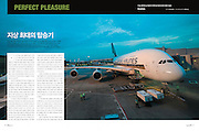 "TEARSHEET: ""SQ380 - The Airbus A380's first commercial flight"" by Heimo Aga for LUEL."
