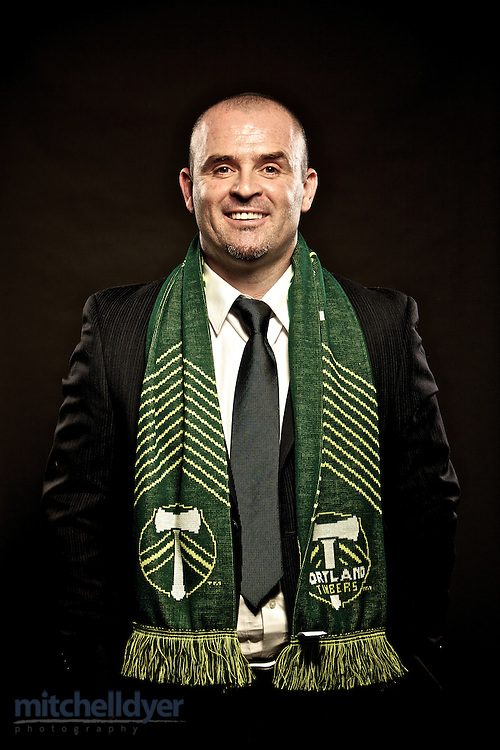 Timbers MLS Head Coach John Spencer Photo by Portland Oregon Photographer Craig Mitchelldyer www.craigmitchelldyer.com 503.513.0550