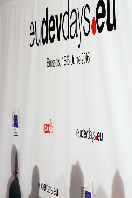 20160615 - Brussels , Belgium - 2016 June 15th - European Development Days -  © European Union