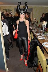 OLIVIA McCALL at the Bumpkin Halloween Dinner hosted by Marissa Hermer held at Bumpkin, 119 Sydney Street, London on 23rd October 2014.