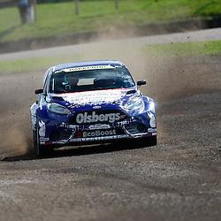 Andreas Bakkerud. World Rallycross Media Day at Lydden Hill Race Circuit, Kent (c) Matt Bristow | SportPix.org.uk