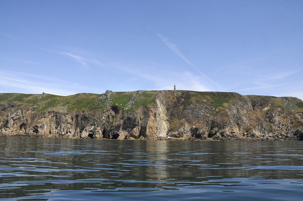 West coast of Lundy, Devon