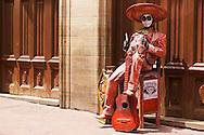 Street performance in Guanajuato, México