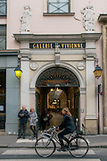 Entrance of Galerie Vivienne in Paris