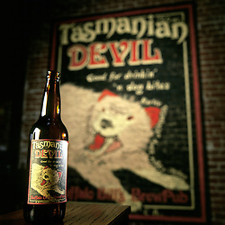 Product shot from Buffalo Bill's Brewery, a microbrewery in Hayward, Calif., photographed Sunday, Feb. 20, 2005. (Photo by D. Ross Cameron)