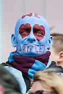 A Burnley fan dressed for the occasion during the Sky Bet Championship match at Turf Moor, Burnley<br /> Picture by Matt Wilkinson/Focus Images Ltd 07814 960751<br /> 02/05/2016