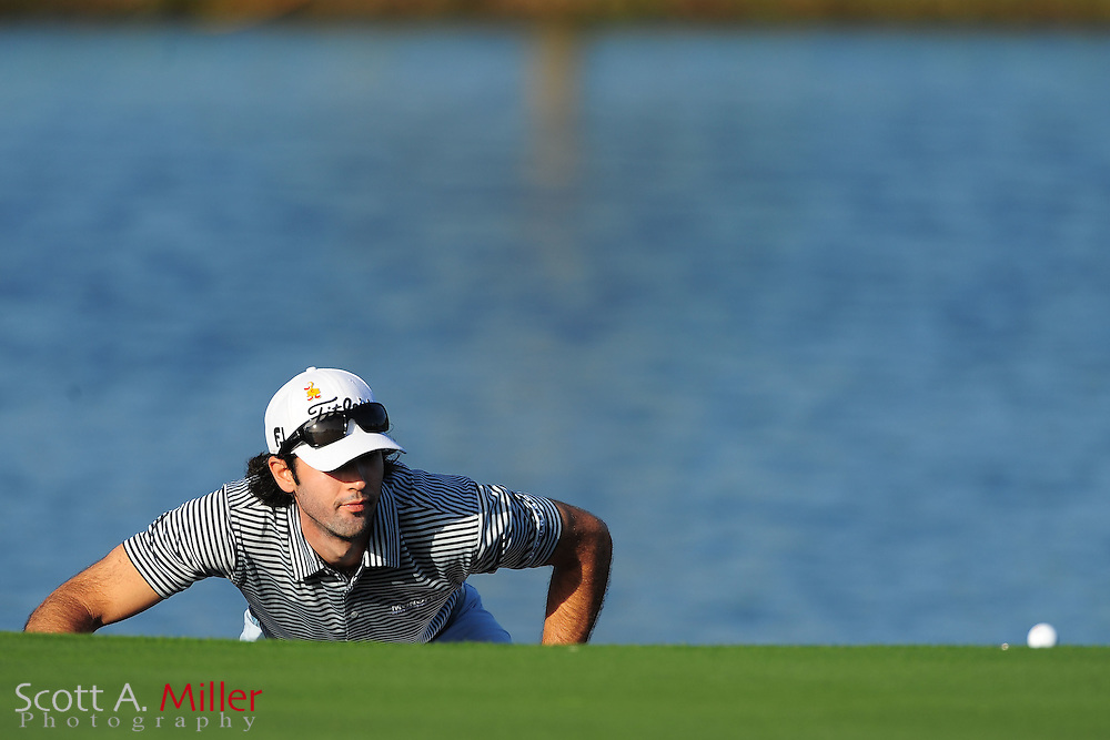 Cameron Tringale during the first round of the Arnold Plamer Invitational at the Bay Hill Club and Lodge on March 22, 2012 in Orlando, Fla. ..©2012 Scott A. Miller.