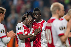 24-05-2017 SWE: Final Europa League AFC Ajax - Manchester United, Stockholm<br /> Finale Europa League tussen Ajax en Manchester United in het Friends Arena te Stockholm / Een teleurgestelde Bertrand Traoré #9, Davinson Sanchez #5