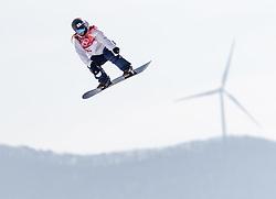 19.02.2018, Alpensia Ski Jumping Centre, Pyeongchang, KOR, PyeongChang 2018, Snowboard, Damen, Big Air, im Bild Asami Hirono (JPN) // Asami Hirono of Japan during the Ladies Snowboard Big Air of the Pyeongchang 2018 Winter Olympic Games at the Alpensia Ski Jumping Centre in Pyeongchang, South Korea on 2018/02/19. EXPA Pictures © 2018, PhotoCredit: EXPA/ Johann Groder