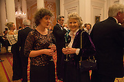 KATE MAVOR; JOYCE MACKIE, The National Trust for Scotland Mansion House Dinner. Mansion House, London. 16 October 2013