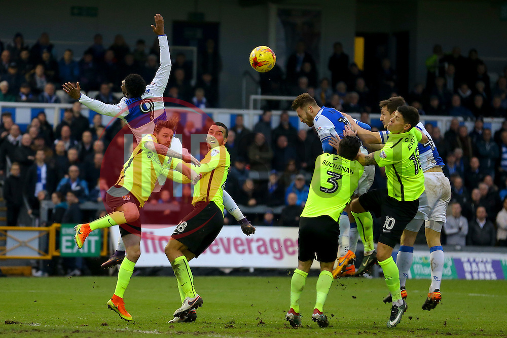 Bristol Rovers corner ball - Mandatory by-line: Jason Brown/JMP - 07/01/2017 - FOOTBALL - Memorial Stadium - Bristol, England - Bristol Rovers v Northampton Town - Sky Bet League One