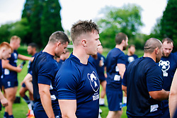 Charlie Powell looks on during week 1 of Bristol Bears pre-season training ahead of the 19/20 Gallagher Premiership season - Rogan/JMP - 03/07/2019 - RUGBY UNION - Clifton Rugby Club - Bristol, England.