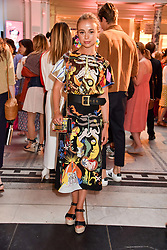 "Lady Amelia Windsor at the opening of ""Frida Kahlo: Making Her Self Up"" Exhibition at the V&A Museum, London England. 13 June 2018."