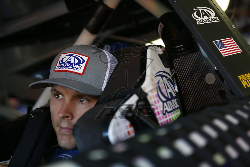 September 23, 2017 - Loudon, New Hampshire, USA: Trevor Bayne (6) hangs out in the garage during practice for the ISM Connect 300 at New Hampshire Motor Speedway in Loudon, New Hampshire.