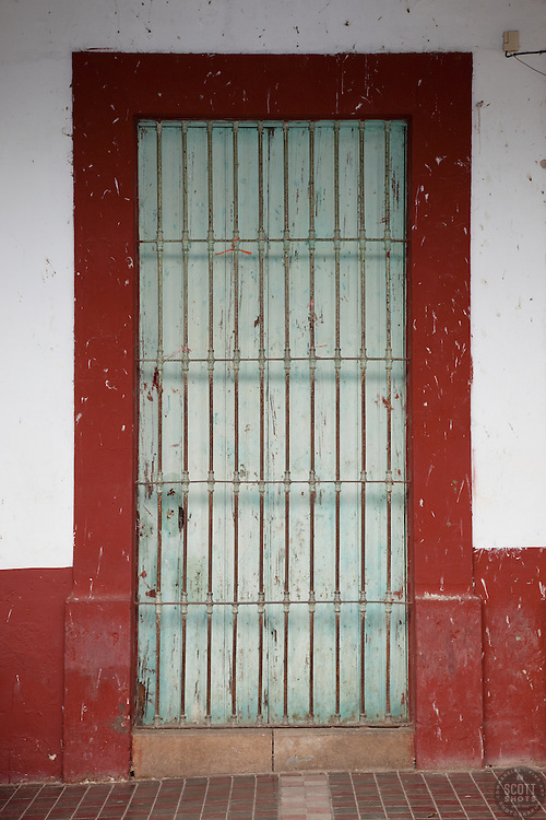 """Door 6' - This old door was photographed in the small mountain town of San Sebastian, Mexico."