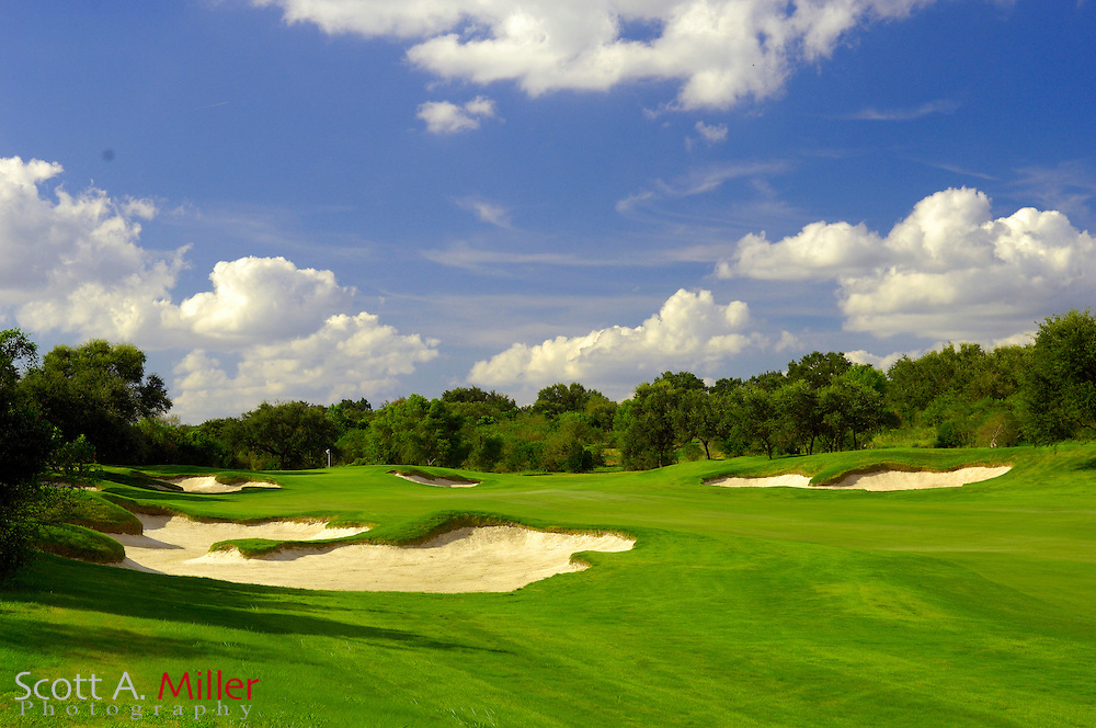 September 7, 2007, San Antonio, Texas; Hole No. 7 at the Briggs Ranch Golf CLub...                ©2007 Scott A. Miller