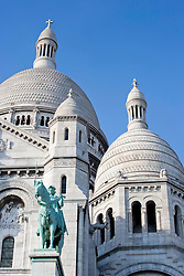 Located at the highest point of Paris, France