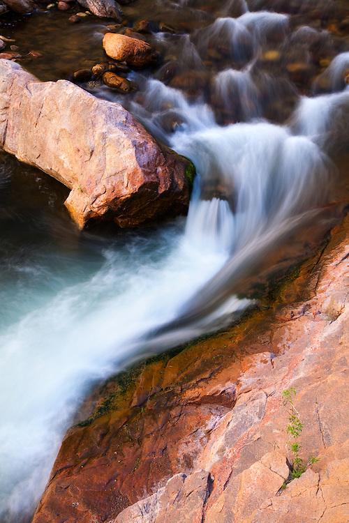 Bright Angel Creek near Phantom Ranch. Grand Canyon National Park.