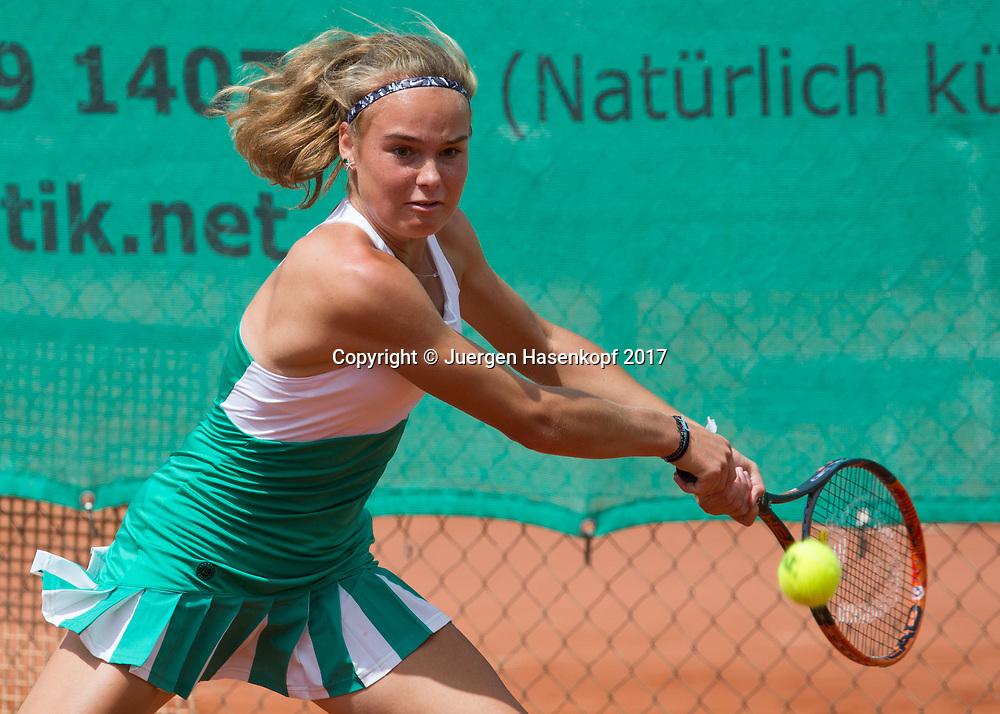 ANJA WILDGRUBER (GER), Bavarian Junior Open 2017, Tennis Europe Junior Tour, GS16<br /> <br /> Tennis - Bavarian Junior Open 2017 - Tennis Europe Junior Tour -  SC Eching - Eching - Bayern - Germany  - 9 August 2017. <br /> &copy; Juergen Hasenkopf