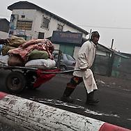 Mongolia. Ulaanbaatar. meat market,   in the yurt district area   Ulan Baatar / le  Marche de la viande dans les quartiers nord  Oulan Bator - Mongolie