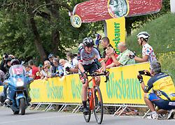 08.07.2019, Wiener Neustadt, AUT, Ö-Tour, Österreich Radrundfahrt, 2. Etappe, von Zwettl nach Wiener Neustadt (176,9 km), im Bild v.l. Felix Engelhardt (GER, Tirol KTM Cycling Team) // f.l. Felix Engelhardt of Germany (Tirol KTM Cycling Team) during 2nd stage from Zwettl to Wiener Neustadt (176,9 km) of the 2019 Tour of Austria. Wiener Neustadt, Austria on 2019/07/08. EXPA Pictures © 2019, PhotoCredit: EXPA/ Reinhard Eisenbauer