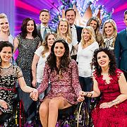 NLD/Amsterdam/20170507 - Gehandicapte Mis(s) verkiezing 2017, winnares Mirande Bakker - Brouwer en en enkele andere deelneemsters