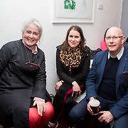 13.03.2017<br /> Canteen, Mallow street hosted The Steam of a Perfect Coffee an investiaftion into STEAM (Science, Technology, Engineering, Art and Mathematics) of the perfect cup of Coffee. <br /> Pictured at the event were, Sheila Deegan, Limerick City and County Council, Catherine Kelleher and Micahel O'Connor.<br /> Picture: Alan Place