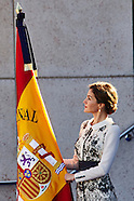111015 Queen Letizia of Spain Delivers Spanish Flag to National Police