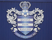 QPR crest the Sky Bet Championship match between Queens Park Rangers and Ipswich Town at the Loftus Road Stadium, London, England on 6 February 2016. Photo by Andy Walter.